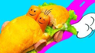 5 идей смешных бутербродов / Рецепты из интернета ОЖИДАНИЕ И РЕАЛЬНОСТЬ  🐞 Afinka