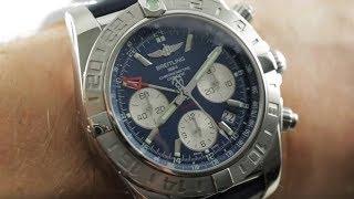Breitling Chronomat 44 GMT Blue Dial AB042011/C851 Pilot's Watch Review