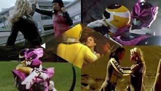 Yellow Ranger vs Pink Ranger