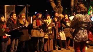 Frosty the Snowman & We Wish You a Merry Christmas || CHRISTMAS CAROLING 2014-2015