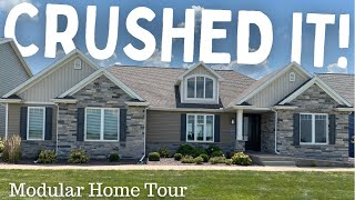 They CRUSHED IT with this Amazing Modular Home! | Home Tour