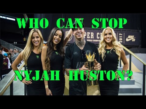 Nyjah Huston - 5 Skaters That Could Stop Him!