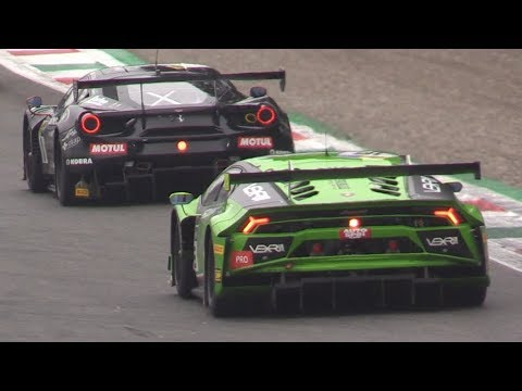 Campionato Italiano GT Monza 2018-M6 GT3,991 GT3 Cup,R8 LMS GT3 Ultra & More