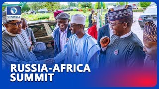 Buhari In Russia For The First Russia Africa Summit