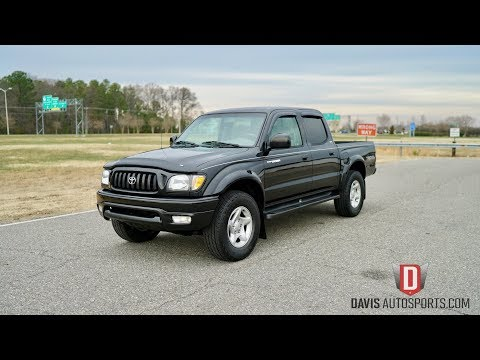 2004 Toyota Tacoma Base Crew Cab Pickup 4-Door: 2004 TOYOTA TACOMA 4X4 / CREW CAB / TRD / GREAT SERVICE HSTORY / WATCH HD VIDEO