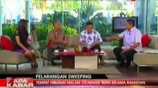 Jubir FPI Siram Sosiolog UI Di Siaran Langsung TVOne