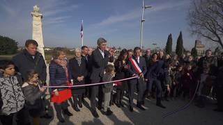 Image miniature - Inauguration des travaux de réaménagement des abords de la mairie de Boé Village