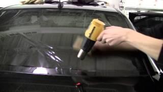 Hướng dẫn dán phim cách nhiệt cho ô tô nhà kính