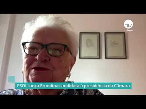 Psol lança Luiza Erundina para disputar Presidência da Câmara - 18/01/21