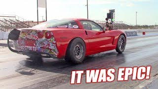 The Auction Corvette Attempts an 8 SECOND PASS Part 4 **Bald Eagle Alert**