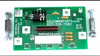 Low Idle PC Board description and installation: Lincoln Arc Welder