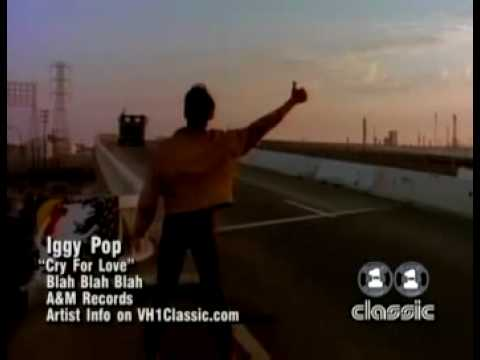 Iggy Pop - Cry For Love [Official Music Video]
