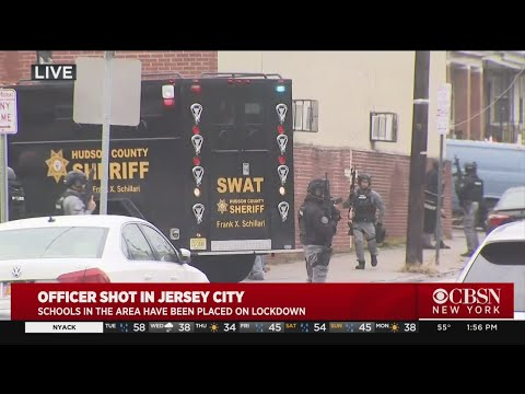 Barrage Of Gunfire Heard In Jersey City As Police Move On Shooting Suspects