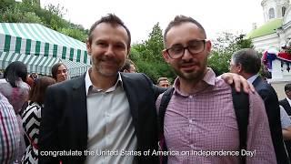 Поздравления с Днем независимости США