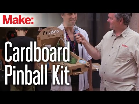 You Can Customise These Cardboard Pinball Machines However You Want