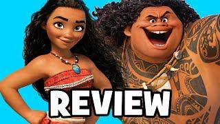 Disney's MOANA Movie Review