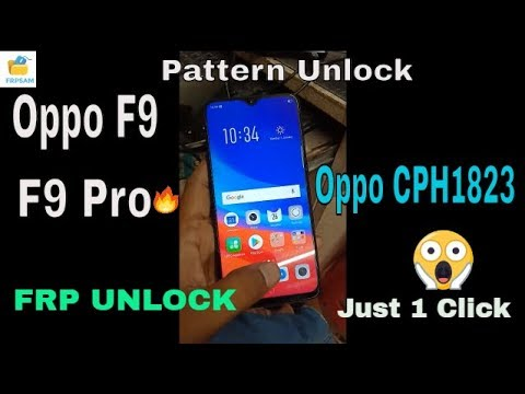 Oppo A83/F5/F5Youth/F7/F9/F9Pro Pattern ,Pin Remove With Miracle box