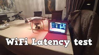 Dji phantom 3 standard FPV Latency test Tablet chuwi h8 video delay