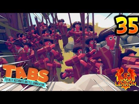 LA DÉMULTIPLICATION DES PÉGUS !! -Totally Accurate Battle Simulator- avec Bob Lennon