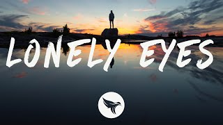 Lauv  - Lonely Eyes (Lyrics)
