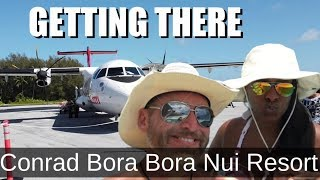 How to get to Bora Bora flying Air Tahiti