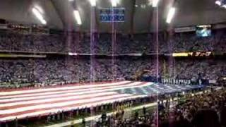 Jon McLaughlin National Anthem 12/30/07