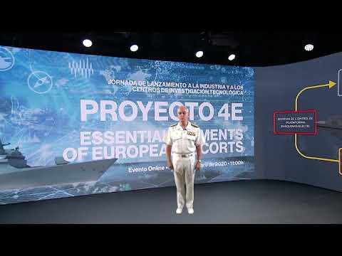 Navantia presenta junto con la Armada el Proyecto 4E sobre los escoltas europeos del futuro