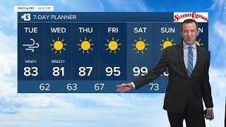 13 First Alert Las Vegas morning forecast | September 8, 2020