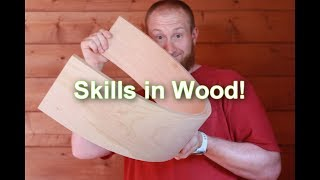 Serious skills! This guy bends wood! Southern Indiana Sawmill