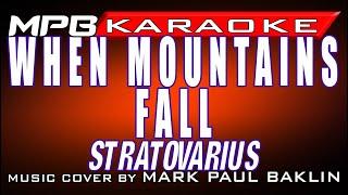 When Mountains Fall - Stratovarius (Piano Version & Karaoke by Mark Paul Baklin)