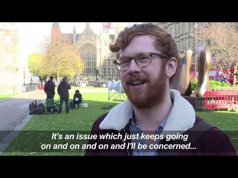 Londoners react to UK's announcement of Brexit draft agreement