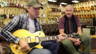 Joe Bonamassa trades his Gibson Les Paul Goldtop at Norman's Rare Guitars