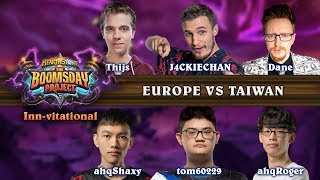 The Boomsday Project Inn-vitational - Taiwan vs. Europe