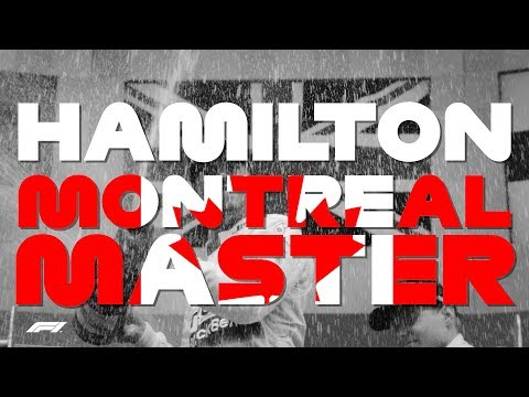 MASTER OF MONTREAL: Lewis Hamilton's six wins in Canada