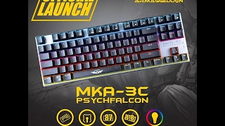 1945d563b08 Armaggeddon MKA 3C lighting effects and sound, Mechanical keyboard (2016  edition) [Outdated