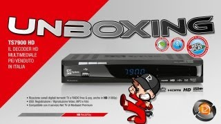 Unboxing Decoder HD TS7900HD Telesystem