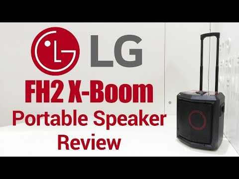 LG FH2 XBoom Speaker Review | Pros & Cons of Portable Bluetooth Mini HiFi System