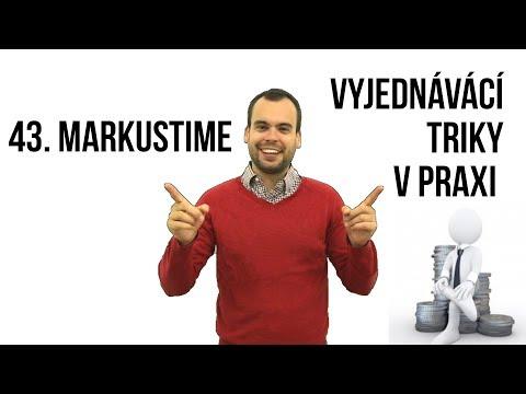 43. MarkusTime: Vyjednávací triky v praxi