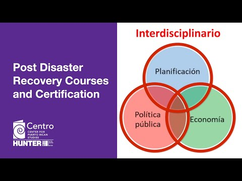Centro PRs Post Disaster Recovery Courses & Certification - YouTube