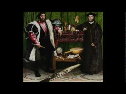 Holbein The Younger The Ambassadors Video Khan Academy