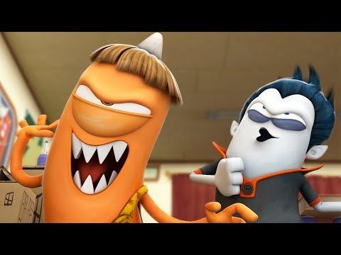 Funny Animated Cartoon | Spookiz | Frenemies | 스푸키즈 | Cartoon For Children | Kids Movies