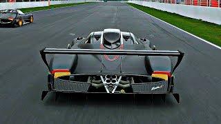 Gran Turismo Sport - Gameplay Pagani Zonda R @ Circuit de Barcelona-Catalunya [1080p 60fps]