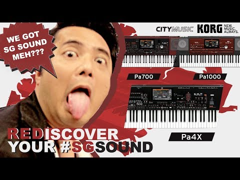 Rediscover Your Singapore Sound | KORG Professional Arrangers PA700, PA1000 & Pa4x #PaSGSounds