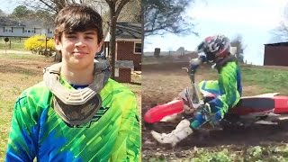 Hayes Grier Hospitalized After Dirt Bike Accident | Hollywire