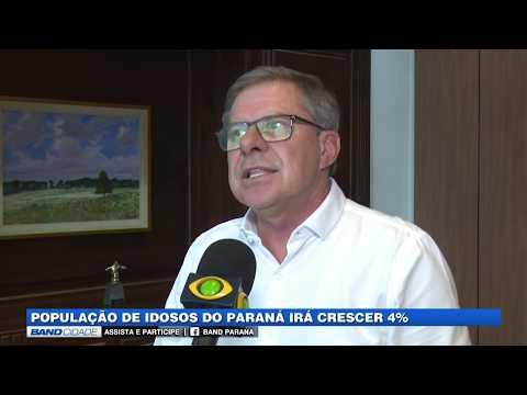 População de idosos no Paraná irá crescer 4%