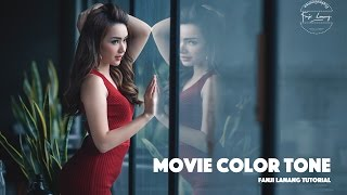 Movie Color Tone Photoshop Tutorial | Cinematic Grading