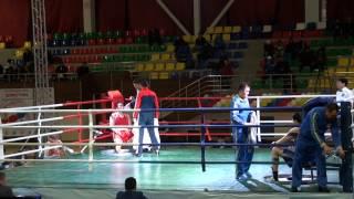 Чемпионат РК по боксу в Таразе 2014 г. Нуржан Бекзатов (ЮКО)-Ермек Усенов (Астана)