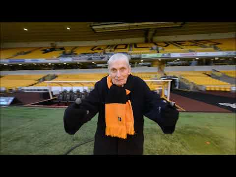 Wolves fan, 92, given tour of Molineux