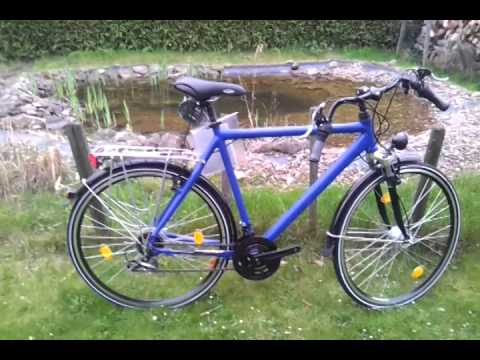 Trekkingrad/ Trekkingfahrrad XXL Rahmen 65 cm blau neu kaufen bei Greenbike-Shop