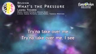 Laura Tesoro - What's the Pressure (Belgium)